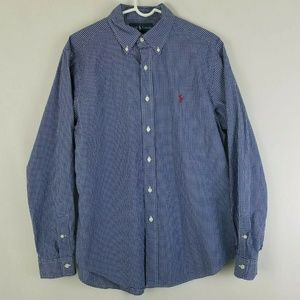 Ralph Lauren Mens Classic Fit Long Sleeve Button